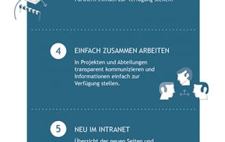 Infografik - Intranet Praxistrends 2014