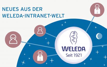 Neues aus der Weleda Intranet-Welt