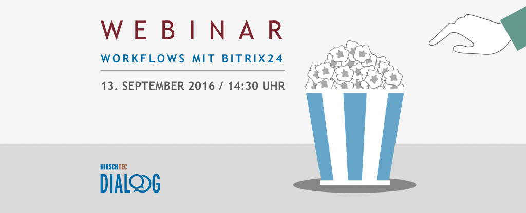 HIRSCHTEC DIALOG: Workflows in Bitrix24