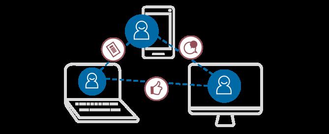 Digitale Vernetzung und Zusammenarbeit
