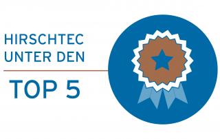 HIRSCHTEC unter den TOP 5 im BVDW-Ranking