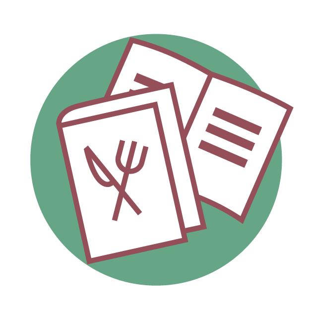 """""""Kochbücher"""" und Powerpoint-Booklets"""