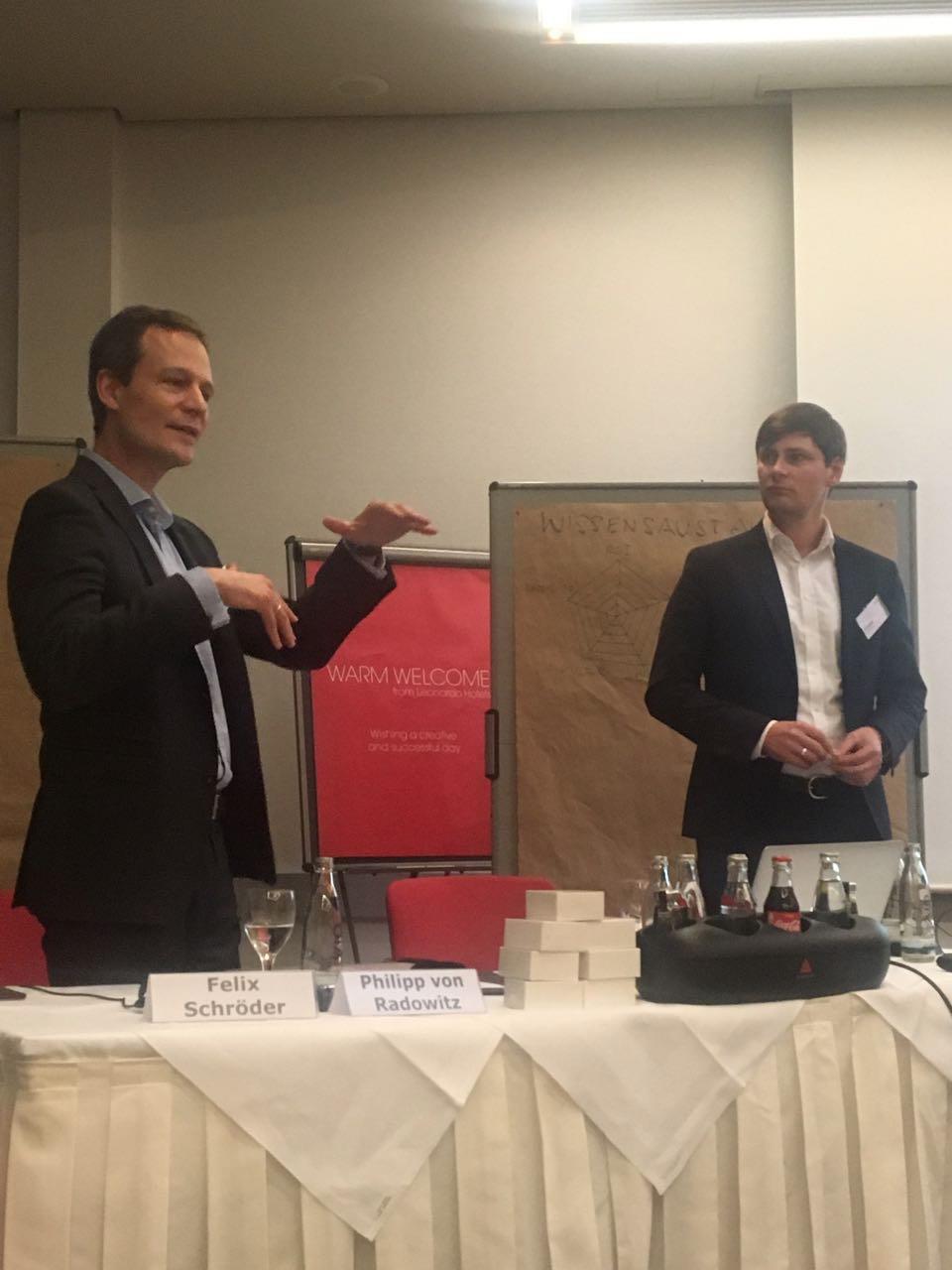 Workshop mit Felix Schröder und Philipp von Radowitz