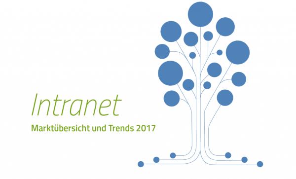 Grafik zur Intranetstudie 2017, Baum mit vernetzten Wurzeln