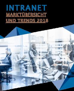 Titelbild der Intranet-Studie 2018, Studie zu Marktübersicht und Trends | HIRSCHTEC