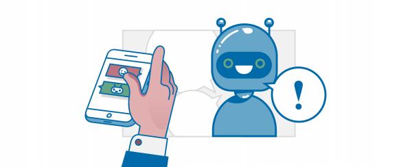 Grafik zum Einsatz von Chatbots in interner Kommunikation   HIRSCHTEC