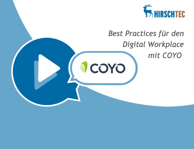 Ankündigung COYO-Webinar | HIRSCHTEC