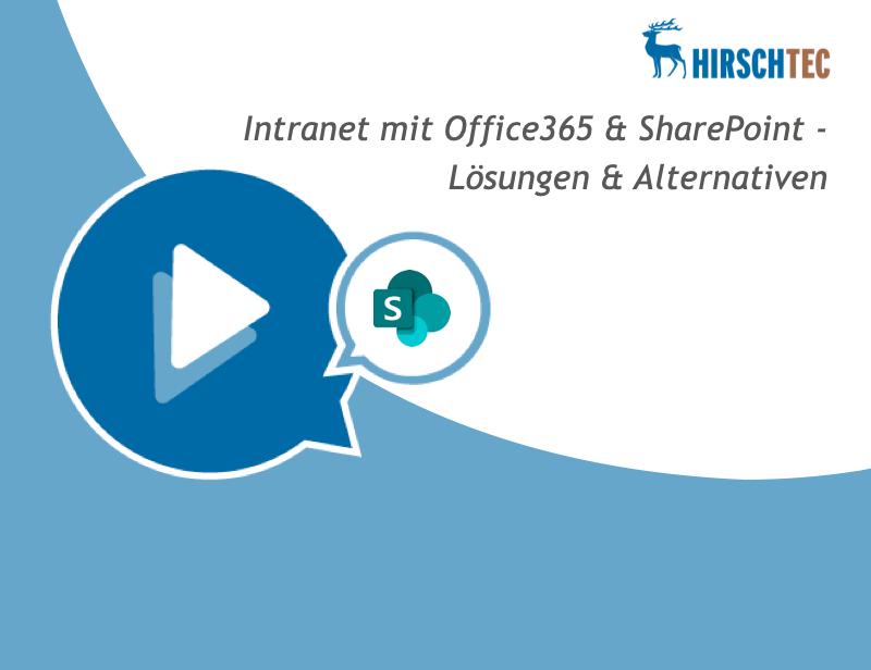 Office 365 & SharePoint - Webinar | HIRSCHTEC