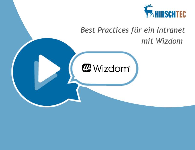Ankündigungsbild Wizdom-Webinar | HIRSCHTEC