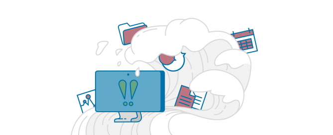Digitale Datenflut am Arbeitsplatz | HIRSCHTEC