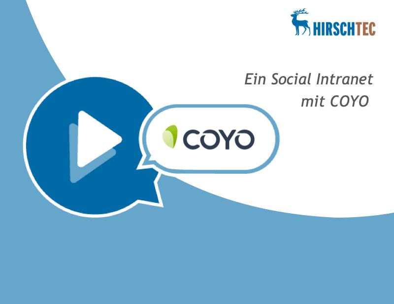 COYO-Webinar-Ankündigung | HIRSCHTEC
