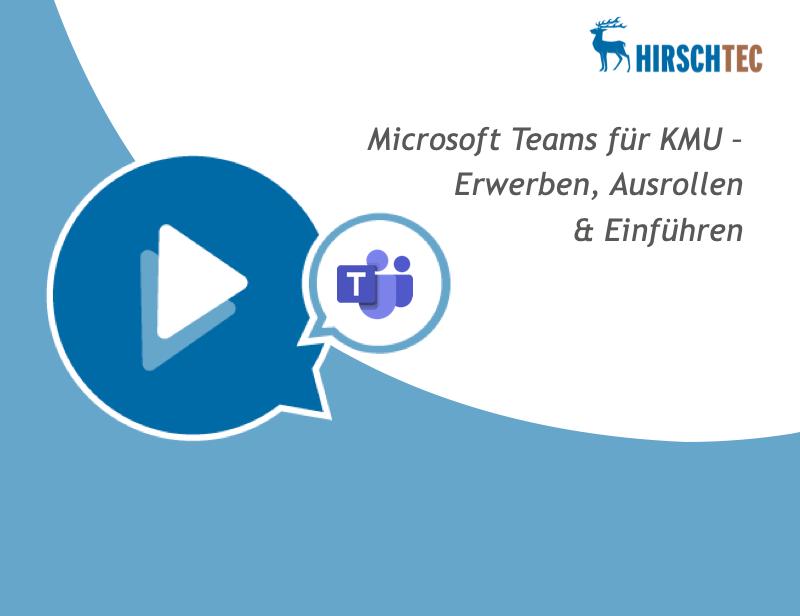 Teams-KMU-Ankuendigung   HIRSCHTEC