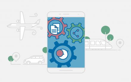 Mit Microsoft Teams aus dem Office 365-Baukasten werden Tablet, Smartphone & Co. zum mobilen Büro mit vielen Vorteilen für das Arbeiten von unterwegs.