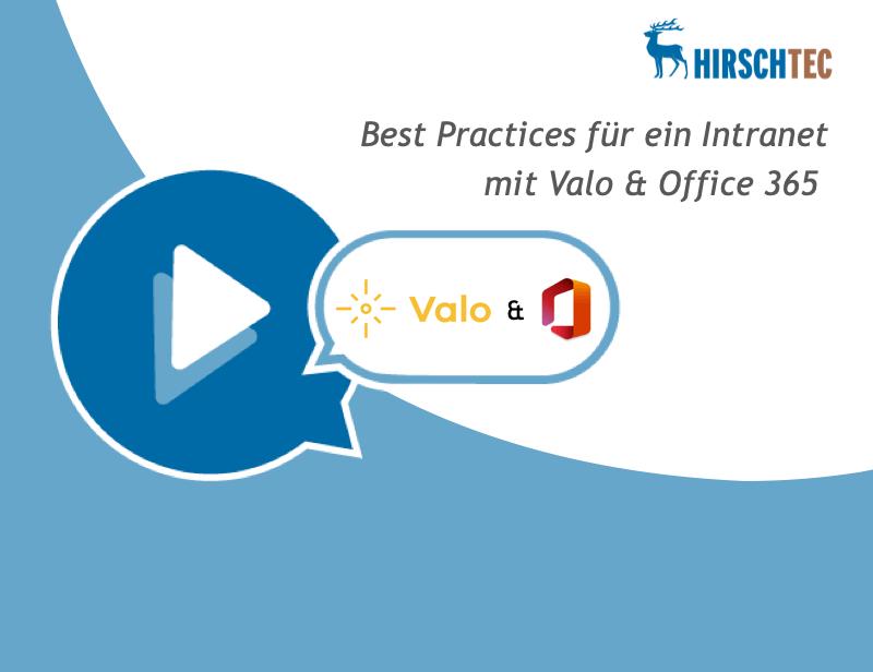 Ankündigung Webinar Valo-Office 365 | HIRSCHTEC