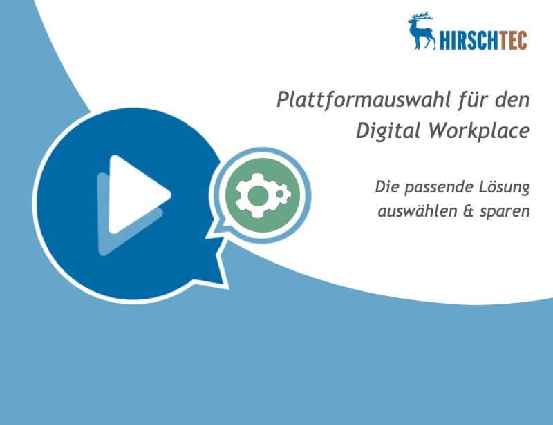 Ankündigung-Webinar-Plattformauswahl | HIRSCHTEC