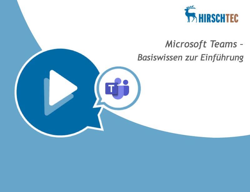 Ankündigung-MS-Teams-Einführung-Webinar | HIRSCHTEC