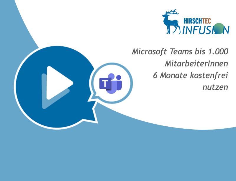 Ankuendigung Microsoft Teams-Webinar | HIRSCHTEC