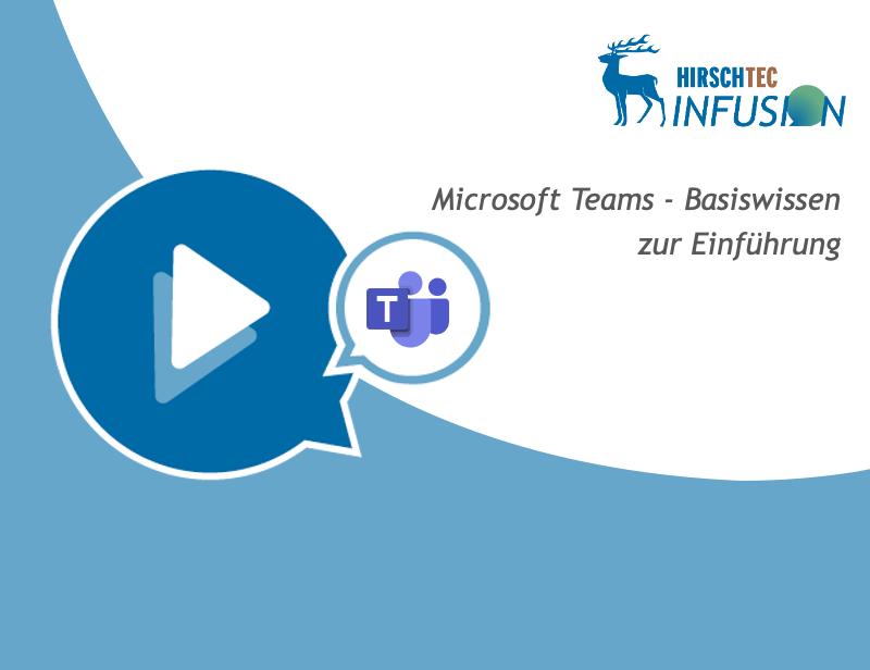 Ankündigung Teams-Basis-Webinar | HIRSCHTEC
