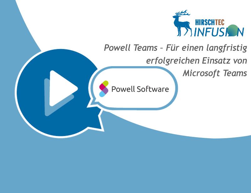 Ankündigung Powell-Webinar | HIRSCHTEC