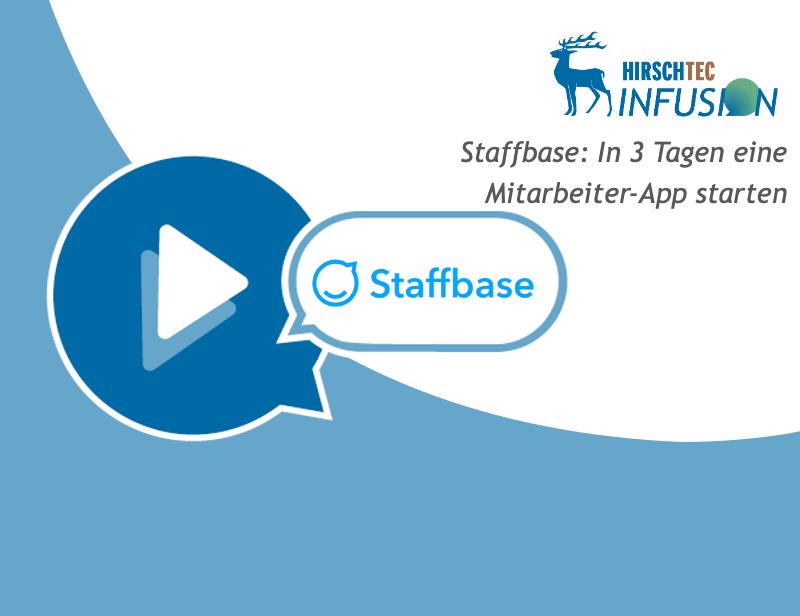 Ankündigung Staffbase-Webinar | HIRSCHTEC