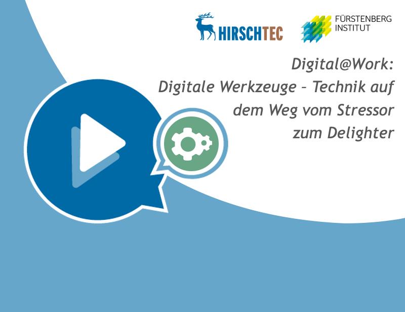 Ankündigung digitale Werkzeuge | HIRSCHTEC