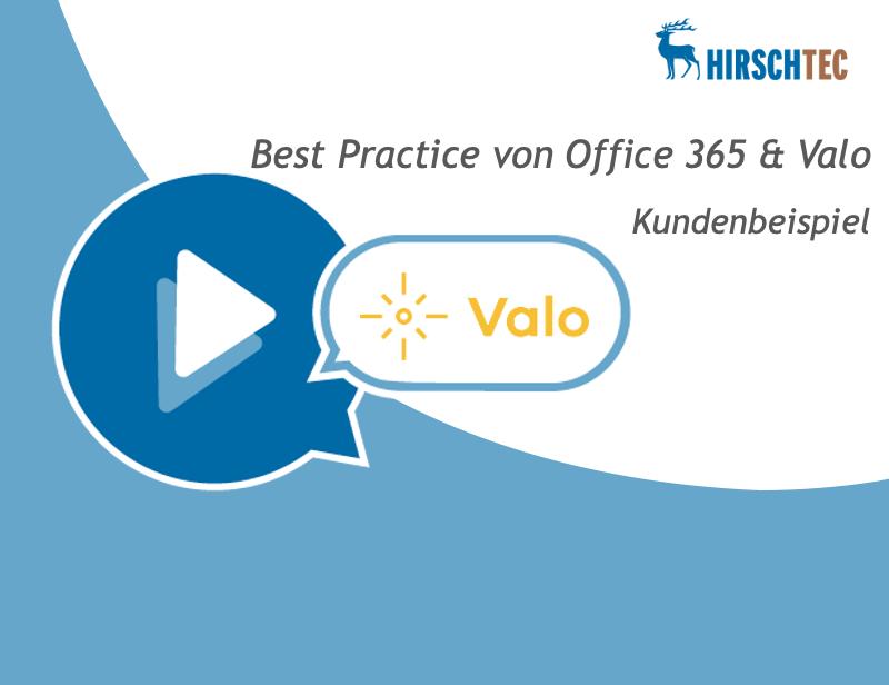 Ankündigung Webinar Valo-Best-Practice | HIRSCHTEC