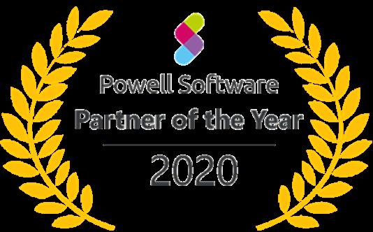 Powell Software_Partner of the Year-2020 | HIRSCHTEC