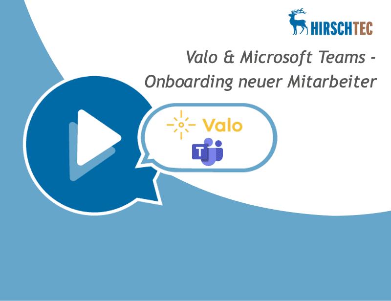 Ankündigung Webinar_Valo-Teams | HIRSCHTEC