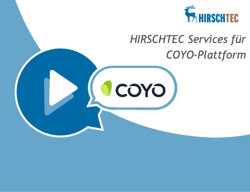 HIRSCHTEC Services für COYO Webinar | HIRSCHTEC