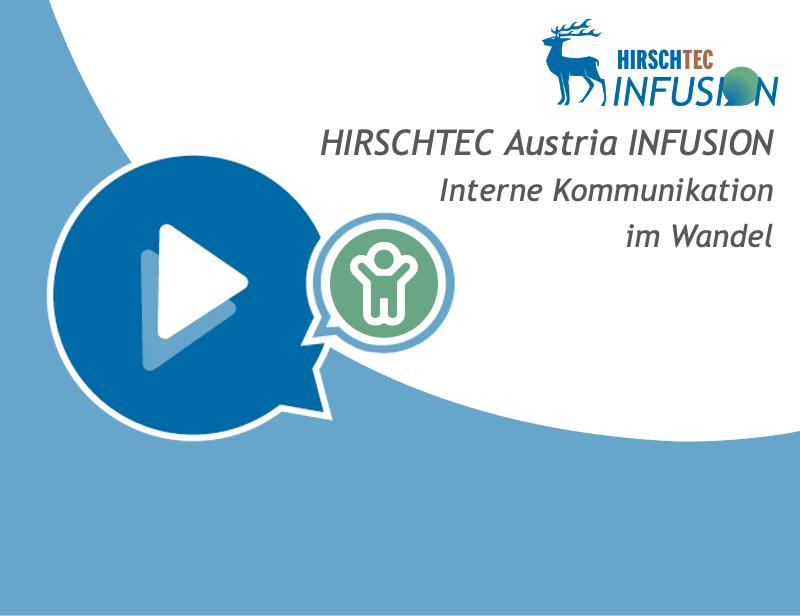 Austria Infusion Interne Kommunikation Webinar | HIRSCHTEC