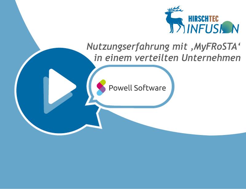 Kundencase-MyFRoSTA | HIRSCHTEC
