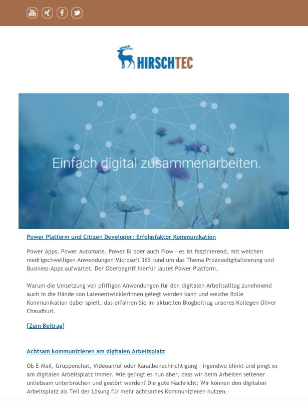 Newsletter_Juli_2021 | HIRSCHTEC