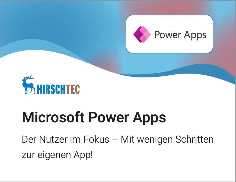 Power-Apps | HIRSCHTEC