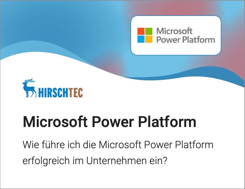 Power-Platform | HIRSCHTEC