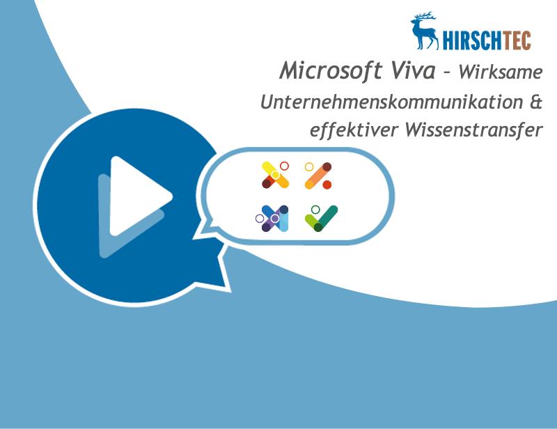 Ankündigung Viva-Webinar | HIRSCHTEC