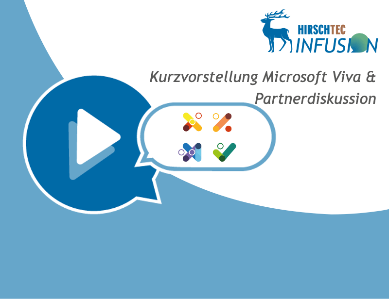 Ankündigung INFUSION Viva Partnerdiskussion | HIRSCHTEC