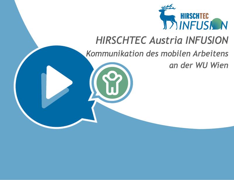 Austria Infusion - Kommunikation mobiles Arbeiten | HIRSCHTEC